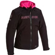 Bering Jaap Ladies Textile Jacket Black/Pink